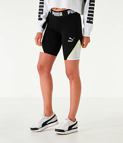 Women's Puma Tape Bike Shorts