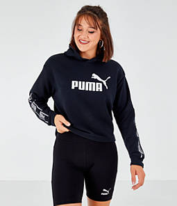 Women's Puma Amplified Crop Hoodie