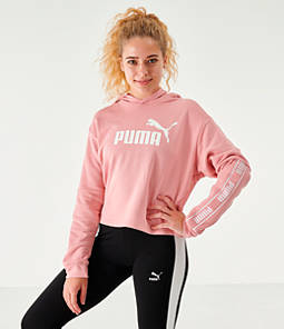 Women's Puma Amplified Crop Hoodie