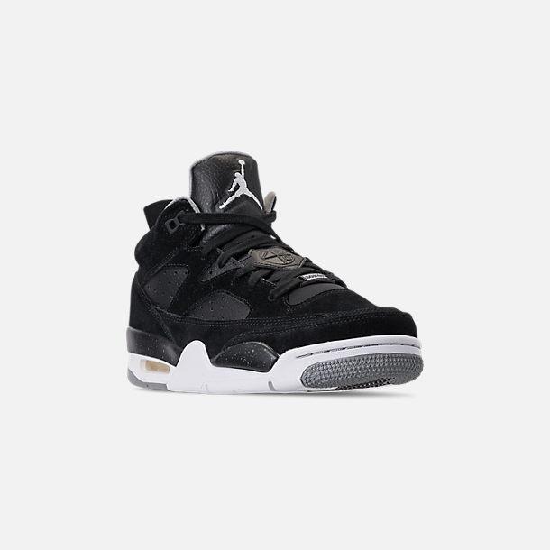cd075b45794a23 Three Quarter view of Men s Air Jordan Son of Mars Low Off Court Shoes in  Black