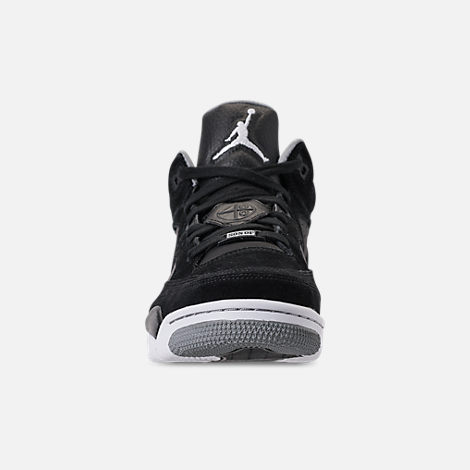 Front view of Men s Air Jordan Son of Mars Low Off Court Shoes in Black  c954f3972fdc
