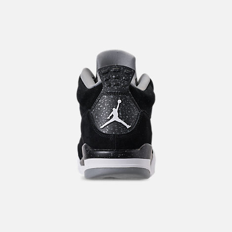Back view of Men's Air Jordan Son of Mars Low Off Court Shoes in Black/White/Particle Grey/Iron Grey