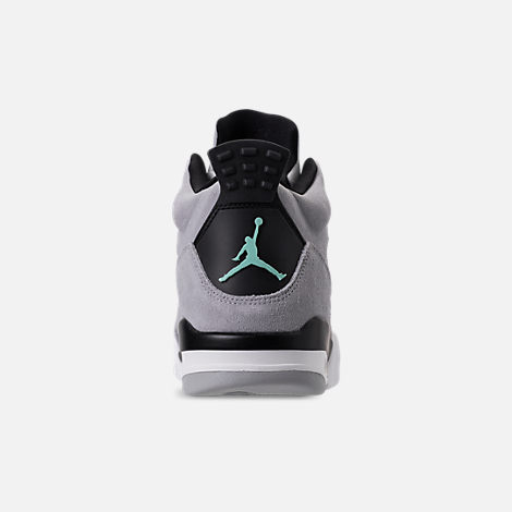 Back view of Men's Air Jordan Son of Mars Low Off Court Shoes in Wolf Grey/Emerald Rise