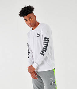 Men's Puma Classics Long-Sleeve T-Shirt