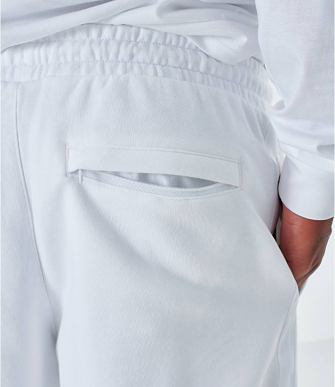 On Model 6 view of Men's Puma Lux Shorts in White