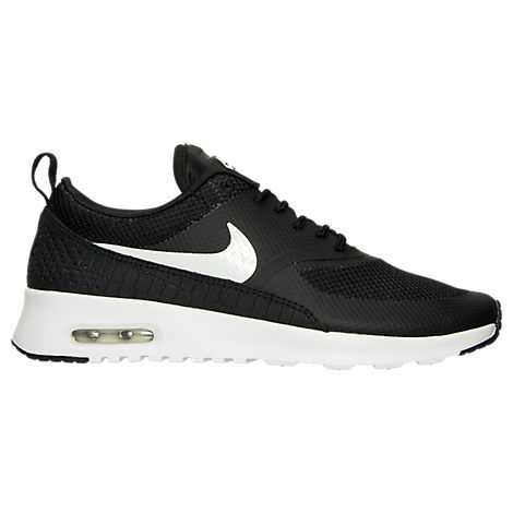nike air max thea womens black and white