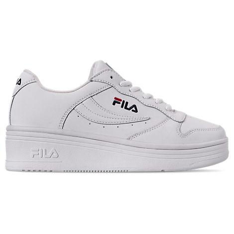 fila women's wx100 casual shoes in white  modesens