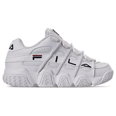 fila women's barricade xt low casual shoes in white  modesens