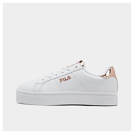 fila women's panache 19 casual shoes in white  modesens