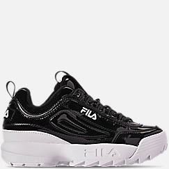 Women's Fila Disruptor II Premium Patent Casual Shoes