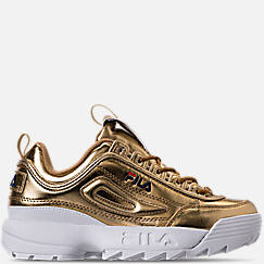 Women's Fila Disruptor II Premium Metallic Casual Shoes
