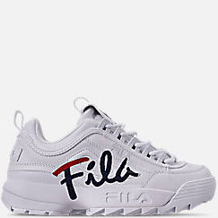 Women's Fila Disruptor II Premium Script Casual Shoes