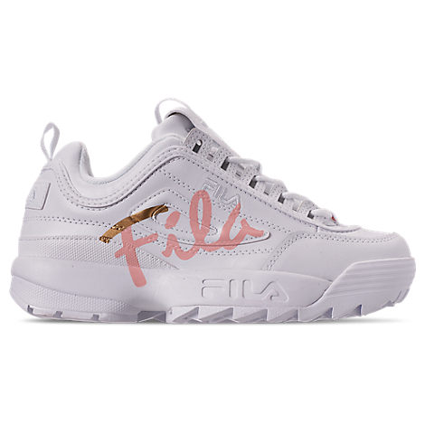 Fila FILA WOMEN'S DISRUPTOR 2 PREMIUM SCRIPT CASUAL SHOES