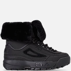 Women's Fila Disruptor Shearling Sneakerboots