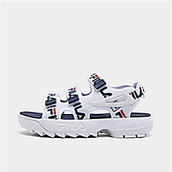 Women's Fila Disruptor Logo Athletic Sandals