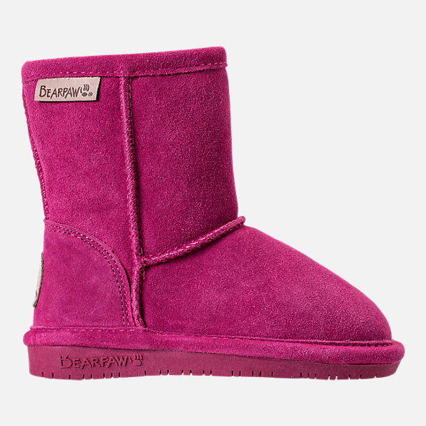 Right view of Girls' Toddler Bearpaw Emma Tall Boots