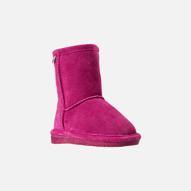 Three Quarter view of Girls' Toddler Bearpaw Emma Tall Boots