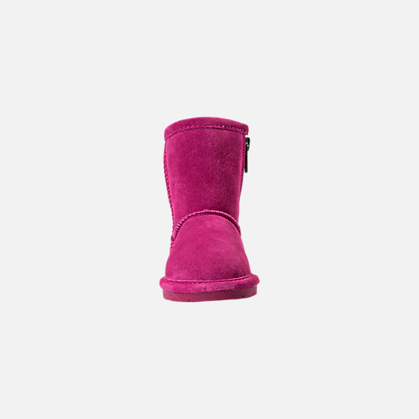Front view of Girls' Toddler Bearpaw Emma Tall Boots