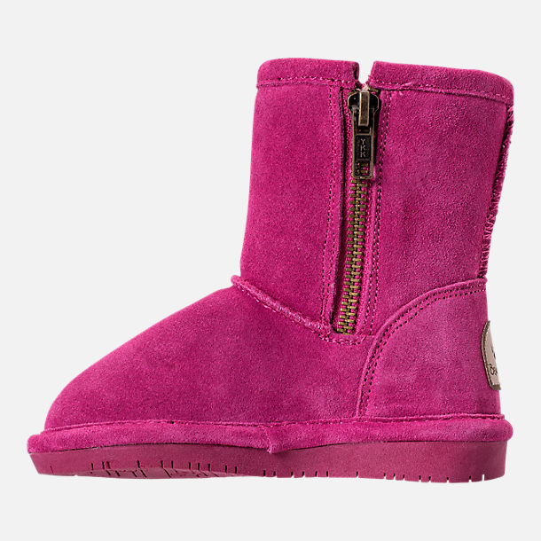 Left view of Girls' Toddler Bearpaw Emma Tall Boots