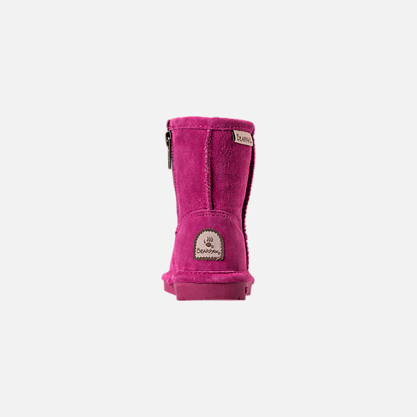Back view of Girls' Toddler Bearpaw Emma Tall Boots