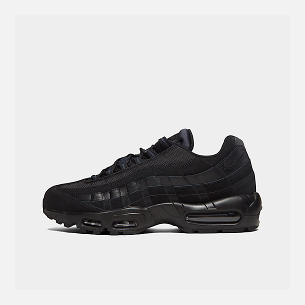 Right view of Men's Nike Air Max 95 Casual Shoes in Black/Anthracite