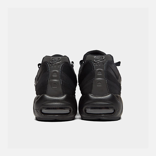 Left view of Men's Nike Air Max 95 Casual Shoes in Black/Anthracite