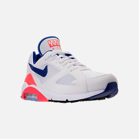 Three Quarter view of Men's Nike Air Max 180 Casual Shoes