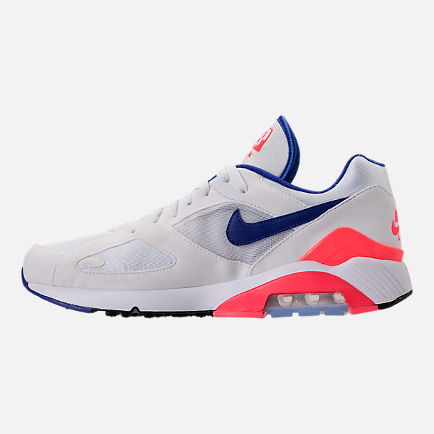 Left view of Men's Nike Air Max 180 Casual Shoes