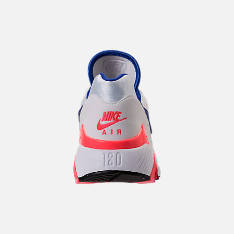 Back view of Men's Nike Air Max 180 Casual Shoes