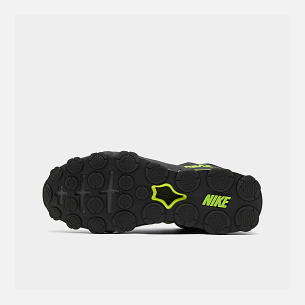 Bottom view of Men's Nike Reax 8 TR Training Shoe in Anthracite/Black/Volt