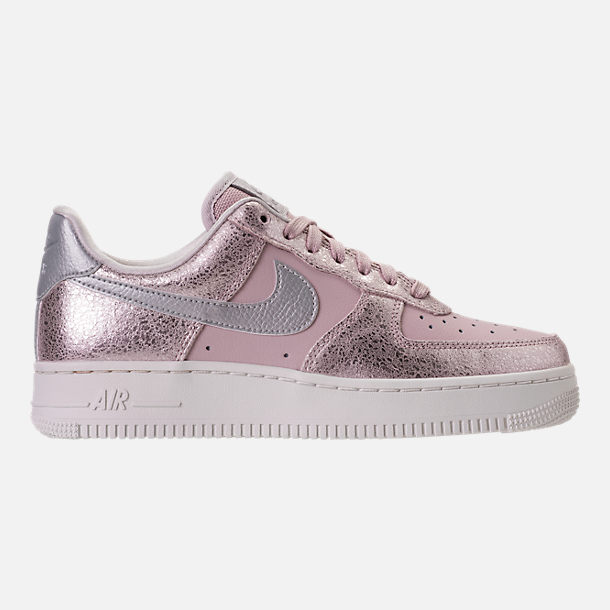 Right view of Women's Nike Air Force 1 '07 Premium Casual Shoes in Port Wine/Port Wine/Gum Med Brown