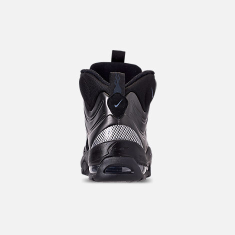 Back view of Men's Nike Air Bakin' Posite Sneakerboots in Black/Anthracite