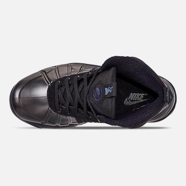 Top view of Men's Nike Air Bakin' Posite Sneakerboots in Black/Anthracite
