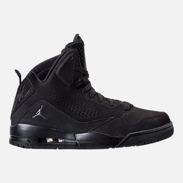 Right view of Mens Air Jordan SC3 OffCourt Shoes in Black