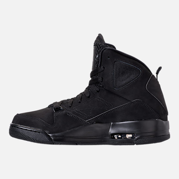 Left view of Men's Air Jordan SC-3 Off-Court Shoes in Black/