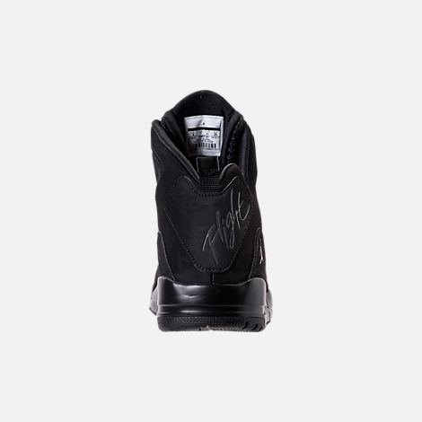 Back view of Men's Air Jordan SC-3 Off-Court Shoes in Black/Anthracite