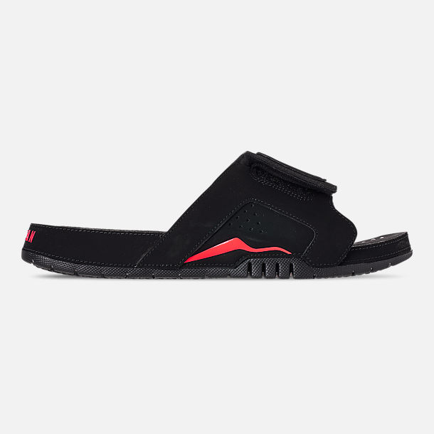 buy popular 168b3 6442c Right view of Men s Jordan Hydro Retro 6 Slide Sandals in Black Infrafred 23