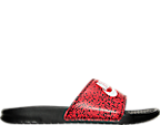 Men's Nike Benassi Jdi Print Slide Sandals by Nike