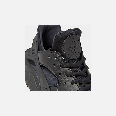 wholesale dealer 1d7ef ef226 Front view of Women s Nike Air Huarache Casual Shoes in Black Black