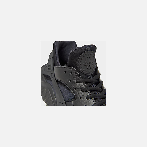db9f654ca08 Front view of Women s Nike Air Huarache Casual Shoes in Black Black