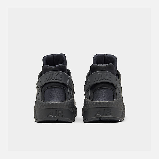 e867f8a7c9a0a1 Left view of Women s Nike Air Huarache Casual Shoes in Black Black