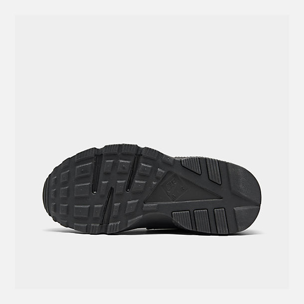 e02c2db89b07 Bottom view of Women s Nike Air Huarache Casual Shoes in Black Black