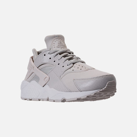 Three Quarter view of Women's Nike Air Huarache Running Shoes in Phantom/Light Bone/Summit White