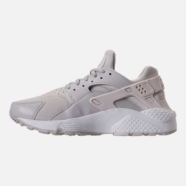 Left view of Women's Nike Air Huarache Running Shoes in Phantom/Light Bone/Summit White
