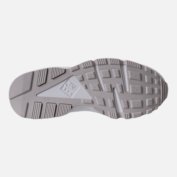 Bottom view of Women's Nike Air Huarache Running Shoes in Phantom/Light Bone/Summit White