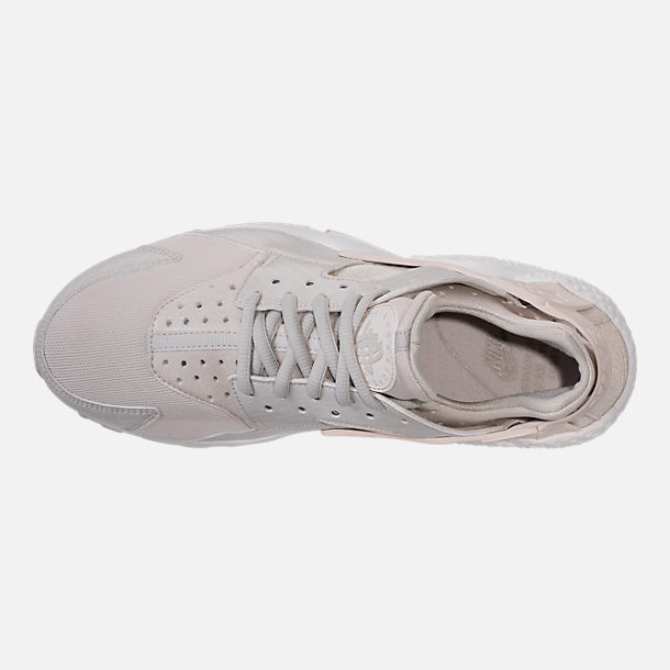 Top view of Women's Nike Air Huarache Running Shoes in Phantom/Light Bone/Summit White