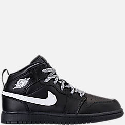 Kids' Preschool Air Jordan 1 Mid Basketball Shoes