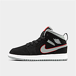 eaefde95871a82 Little Kids  Air Jordan 1 Mid Basketball Shoes