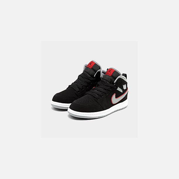 size 40 3132e 48d13 Little Kids' Air Jordan 1 Mid Basketball Shoes