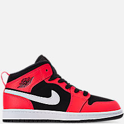 afade40f754d Little Kids  Air Jordan 1 Mid Basketball Shoes